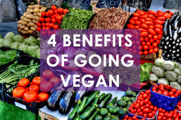 4 Benefits of going vegan
