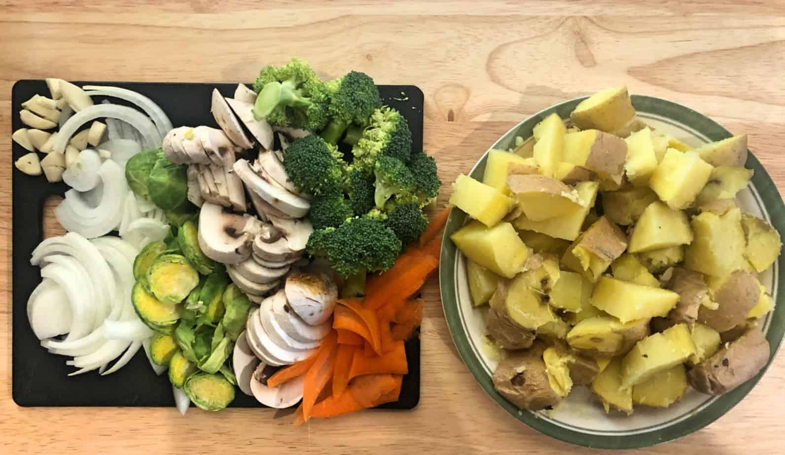 Veggie Potato Hash Ingredients