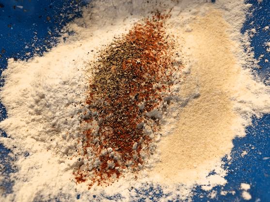 Honey Teriyaki Cauliflower Breading