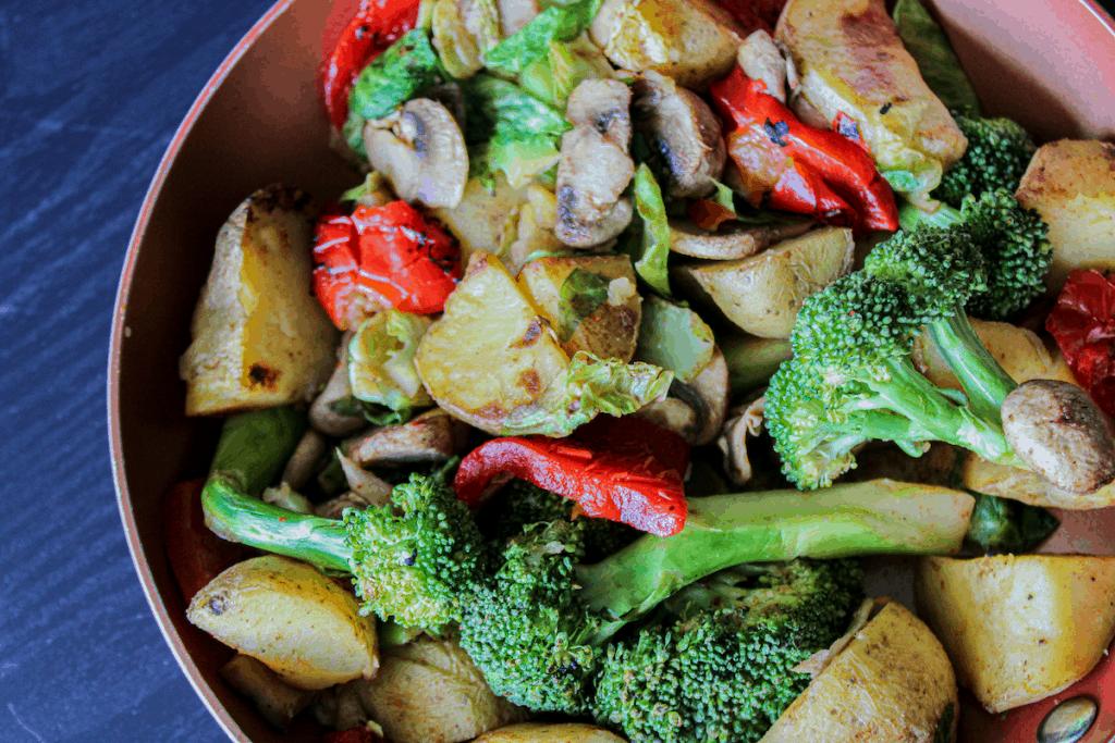 Crispy Vegetable Potato Hash