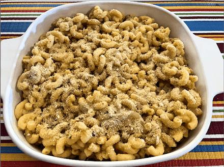 Baked Vegan Mac-N-Cheese