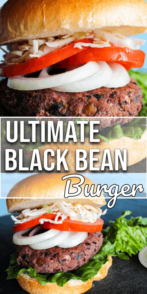 Ultimate Black Bean Smash Burger