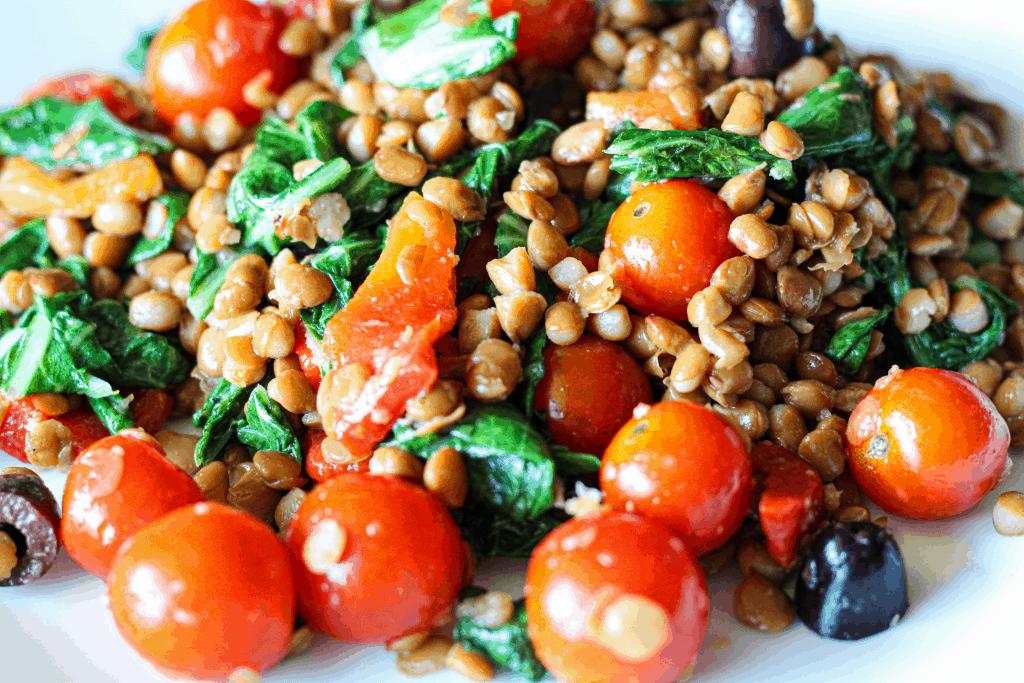 Lentil Salad Protein