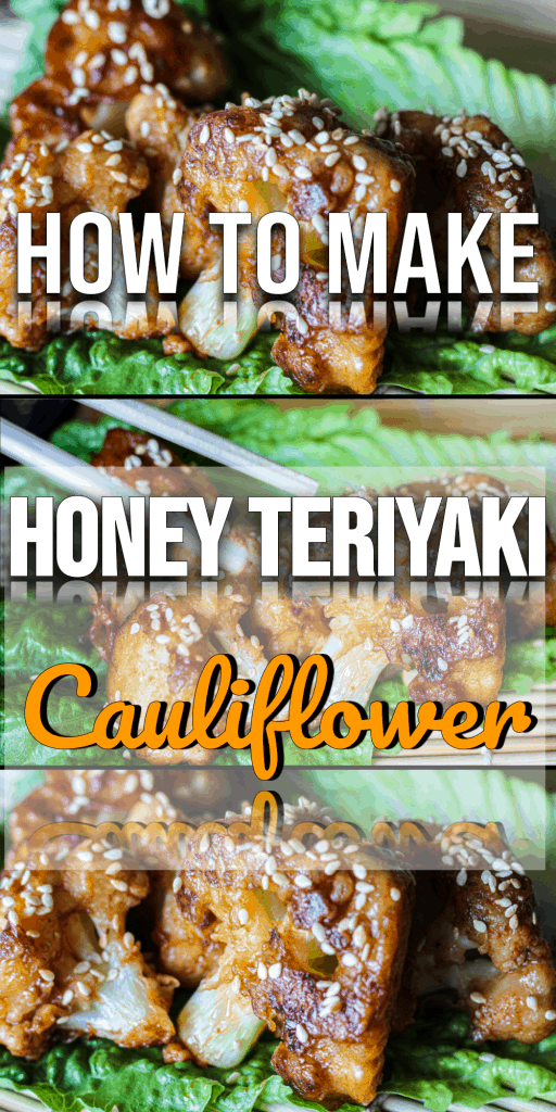 Honey Teriyaki Cauliflower Pinterest