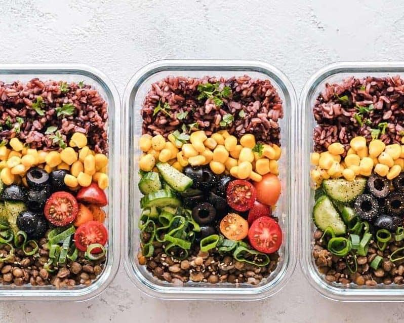 Vegan Meal Prep Container