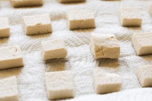 Pressed Tofu for Baked Marinated Tofu Recipe