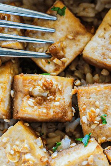 Baked Marinated Tofu Recipe