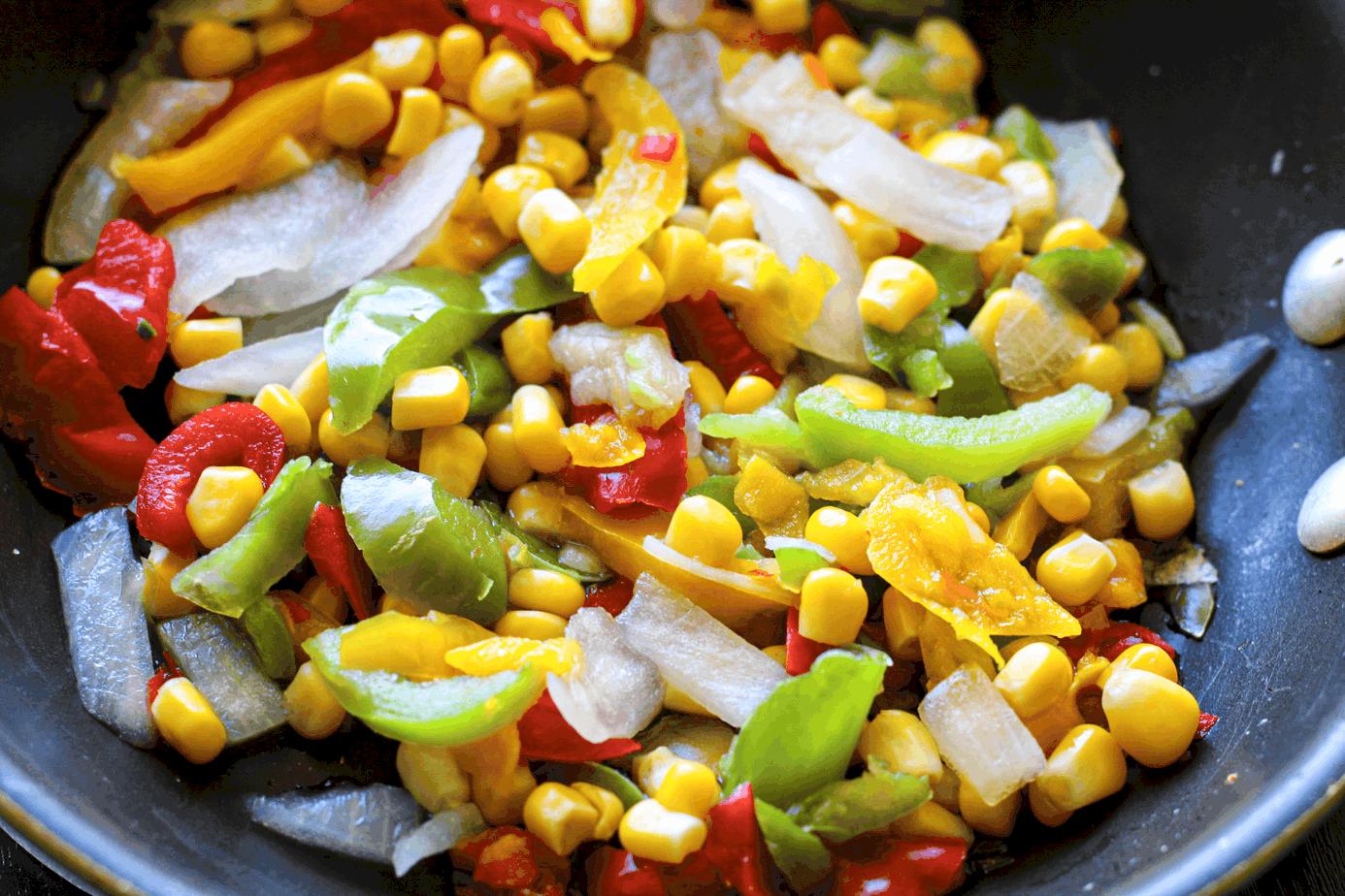 Sautéd vegetables