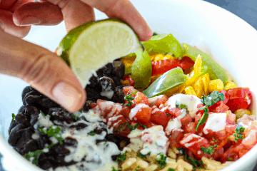 Vegan Fajita Bowl