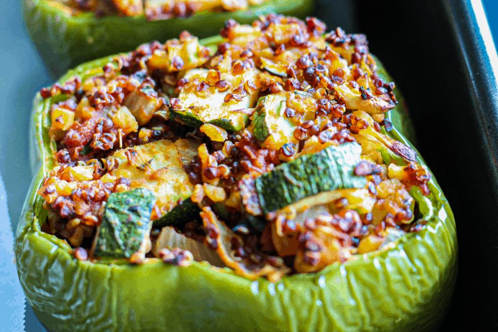 Stuffed Vegan Peppers
