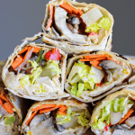 Hummus Veggie Wraps Recipe