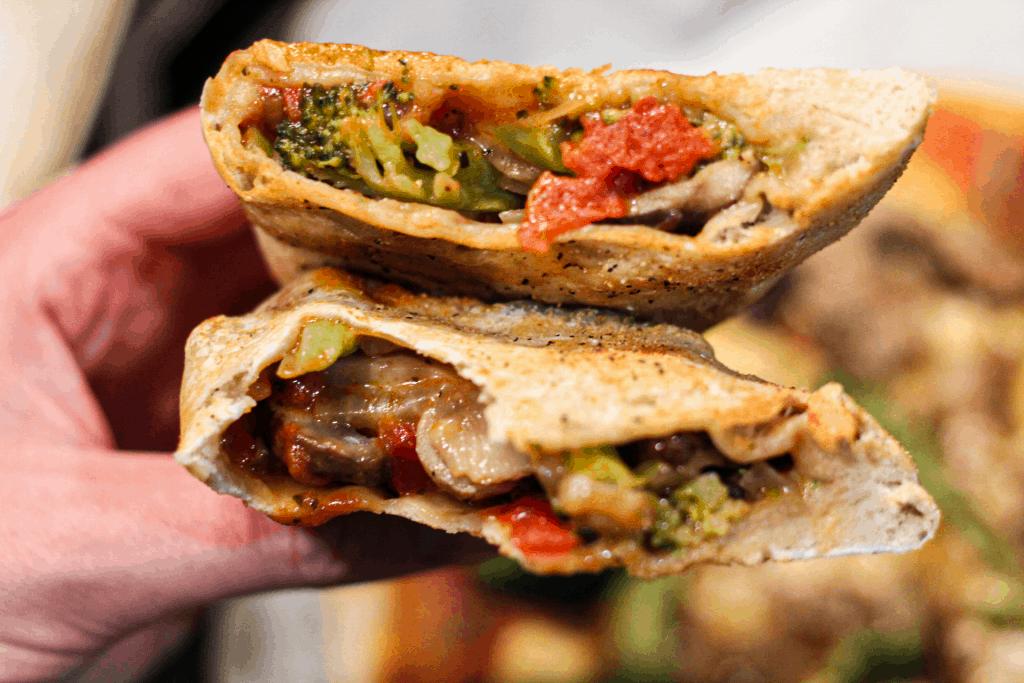 Vegan Pizza Calzones