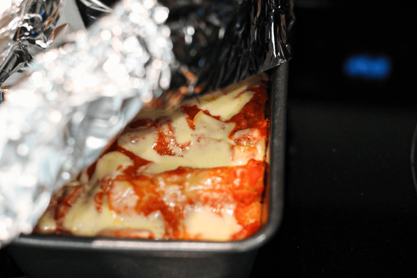 Covered Vegetable Vegan Lasagna