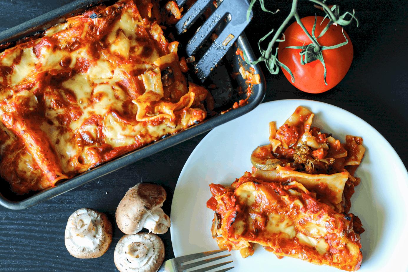Easy Vegetable Vegan Lasagna
