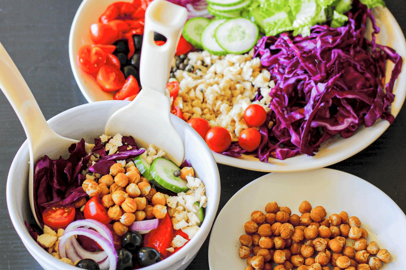 Mediterranean Chopped Summer Salad