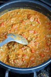creamy red lentil curry recipe vegan